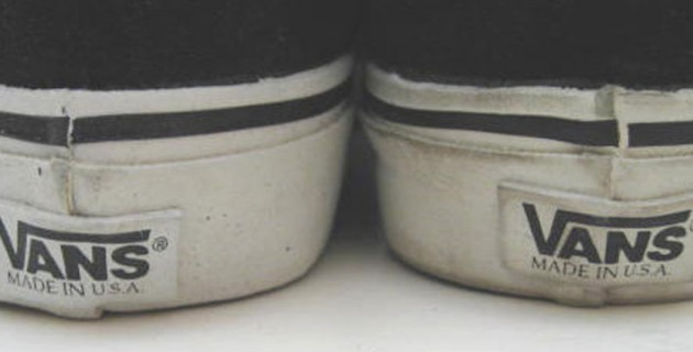 Vans Shoes - Vans Classic Slip-On Shoes - Black