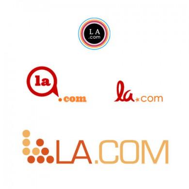 LA.com Logo Design